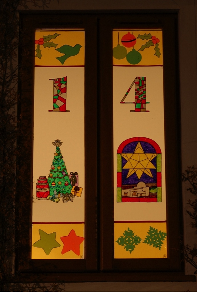 Advent Windows in Silsoe: from 1 December