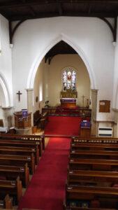 Interior of Silsoe Church