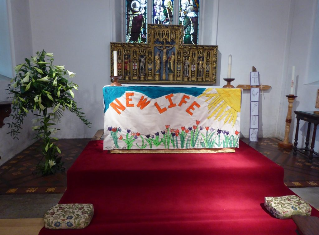 Easter Celebrated In Beautifully Decorated Church St James Church
