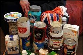 PHOTO - Foodbank donations